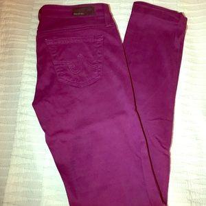 AG Size 24 Straight Leg Jeans